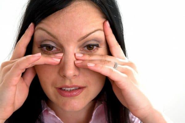 аллергия на глазх